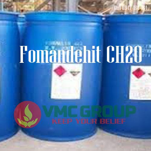 Formalin Focmon fomandehit CH2O